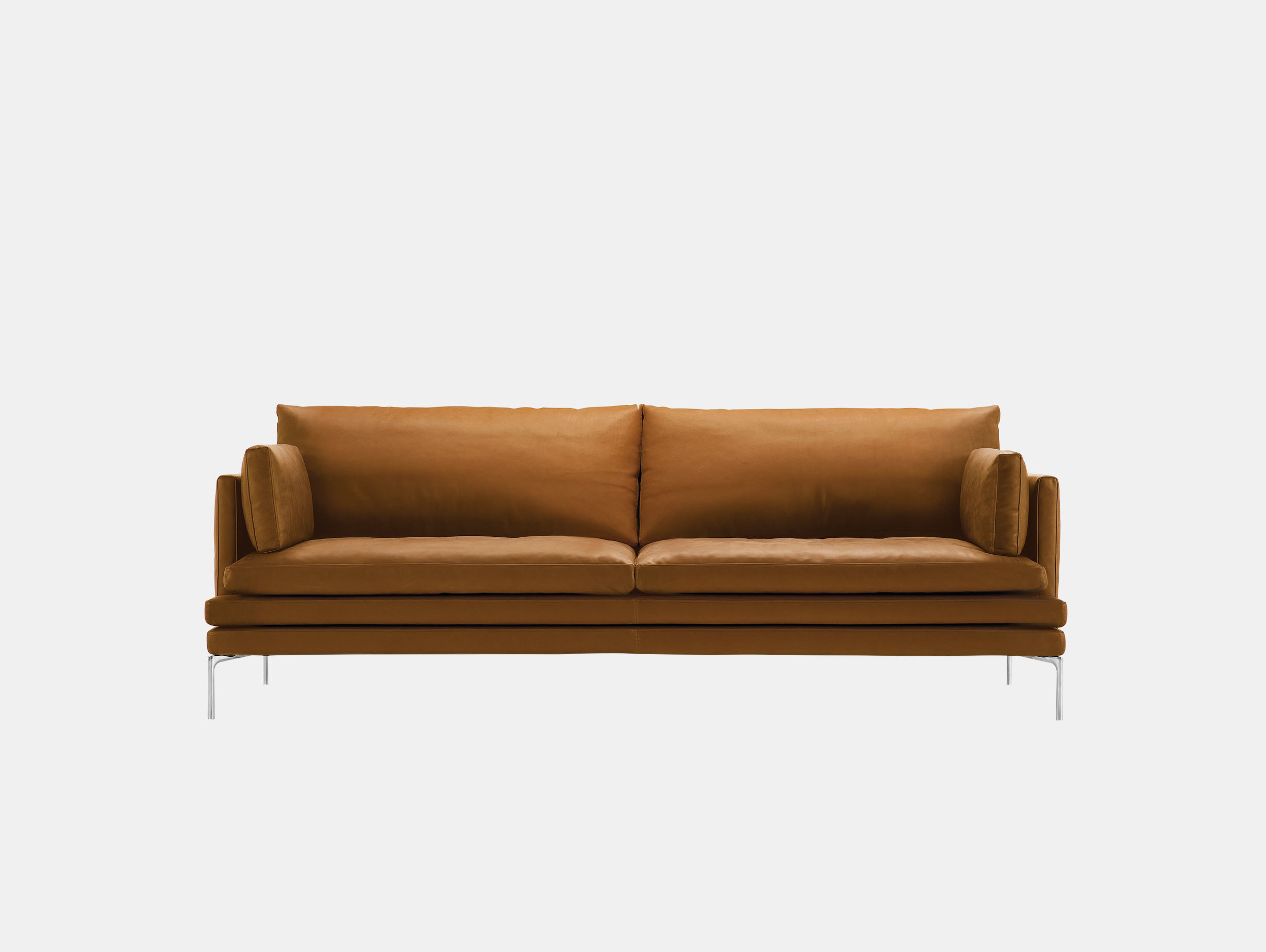 Zanotta William Three Seater Sofa L 224Cm Damian Williamson