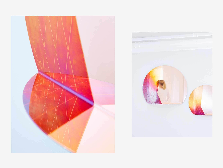 Studio Besau Marguerre Iridescent Mirror