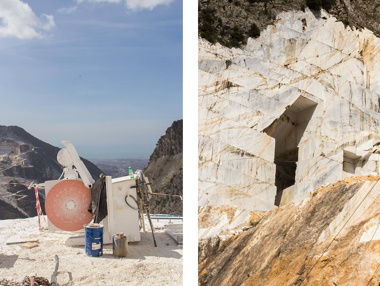 Italy Carrara Marble Quarry