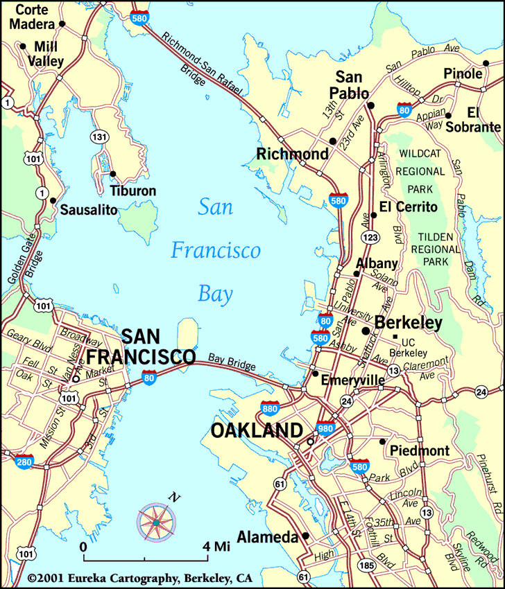 Map Of Berkeley Ca Berkeley, California Maps and Neighborhoods   Visit Berkeley