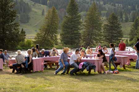BBQ Dinner | Photo: 320 Ranch