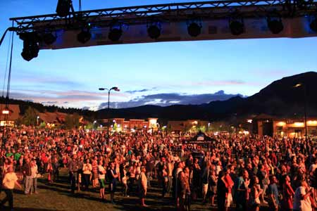 Sunset At Music In The Mountains | Photo: Arts Council of Big Sky