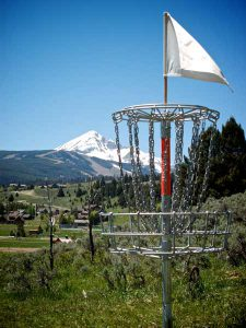 Bighorn Ridge Disc Golf Course | Photo: Big Sky Community Organization