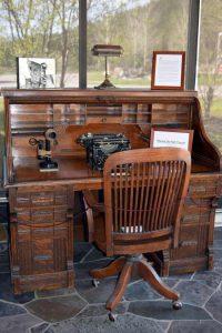 Chet Huntley's Desk   Photo: Margo Magnant