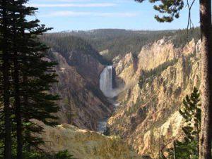 Grand Canyon of The Yellowstone | Photo Credit: Glennis Idrenland