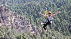 Ziplining | Photo Credit: Montana Whitewater