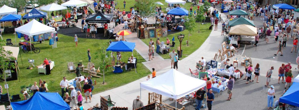 Weekly Farmers Market at Big Sky Resort