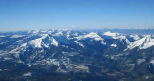 Aerial Photo Of Big Sky | Photo: Arts Council of Big Sky