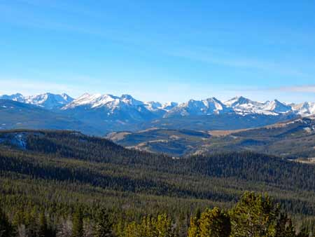 The Madison Range   Photo: A Mountain Journey