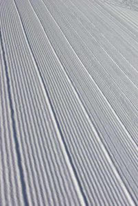 Perfectly Groomed Snow | Photo: Glennis Indreland