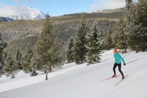 Cross Country Skiing In Big Sky, Montana | Photo: Lone Mountain Ranch