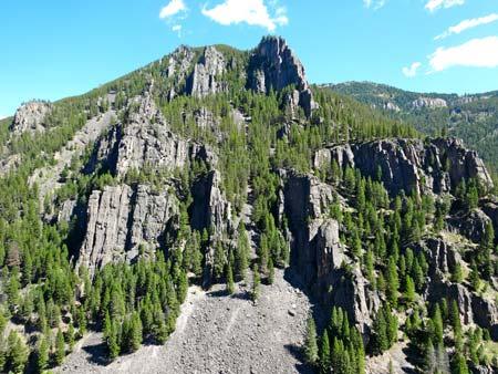 Gallatin Canyon Rock Climbing