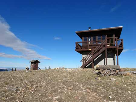 Garnet Mountain Fire Lookout | Photo: D. Lennon