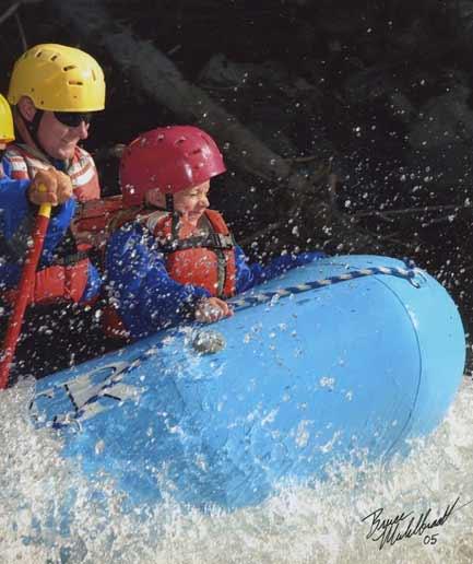 Kids Going Whitewater Rafting | Photo: Montana Whitewater