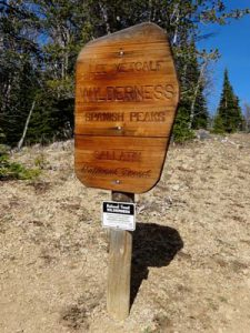 lee metcalf wilderness sign | Photo d. lennon