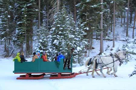 Winter Sleigh Ride | Photo: Lone Mountain Ranch