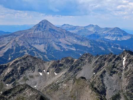 Lone Peak In Summer