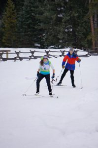 Nordic Section of the Mad Wolf Relay | Photo: Lone Mountain Ranch