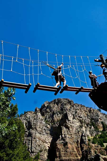 High Ropes Course | Photo: Montana Whitewater