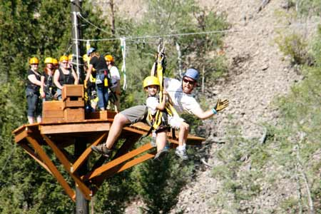 Zip Lines! | Photo: Montana Whitewater