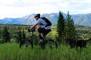 Mountain Biking In Big Sky | Photo: Grizzly Outfitters