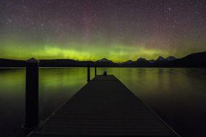 Aurora Borealis in Glacier National Park | Pixabay Image