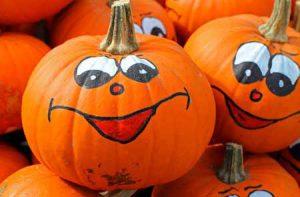 Painted Pumpkins   Pixabay Image
