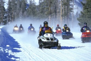 Snowmobiles In Yellowstone National Park   Pixabay Image