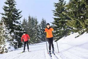 Skate and Track Cross Country Skiing