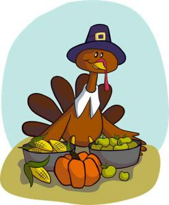 Happy Thanksgiving | Pixabay Graphic