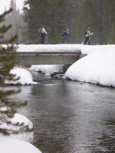Winter Hiking   Photo: Glenniss Indreland