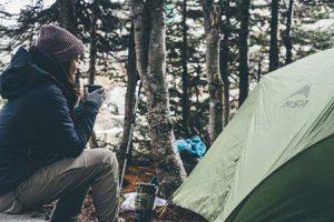 woman camping | Pixabay