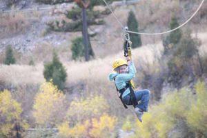 Zip Lining With Kids | Photo: Montana Whitewater