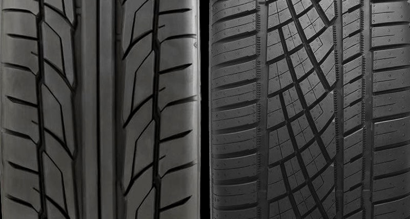 Symmetric vs. asymmetric tires