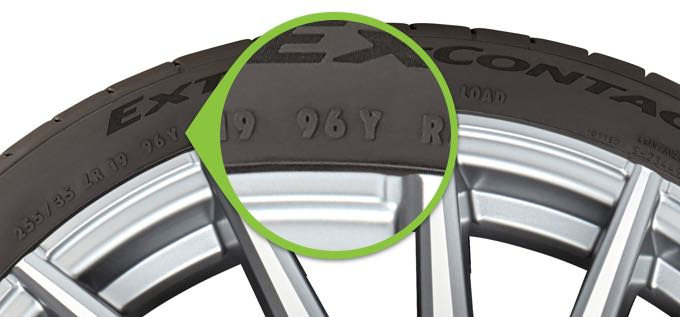 What Do The Numbers On A Tire Mean >> How to read speed rating and load index | TireBuyer.com