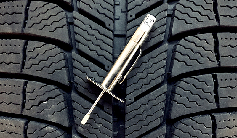How to use a tire tread gauge