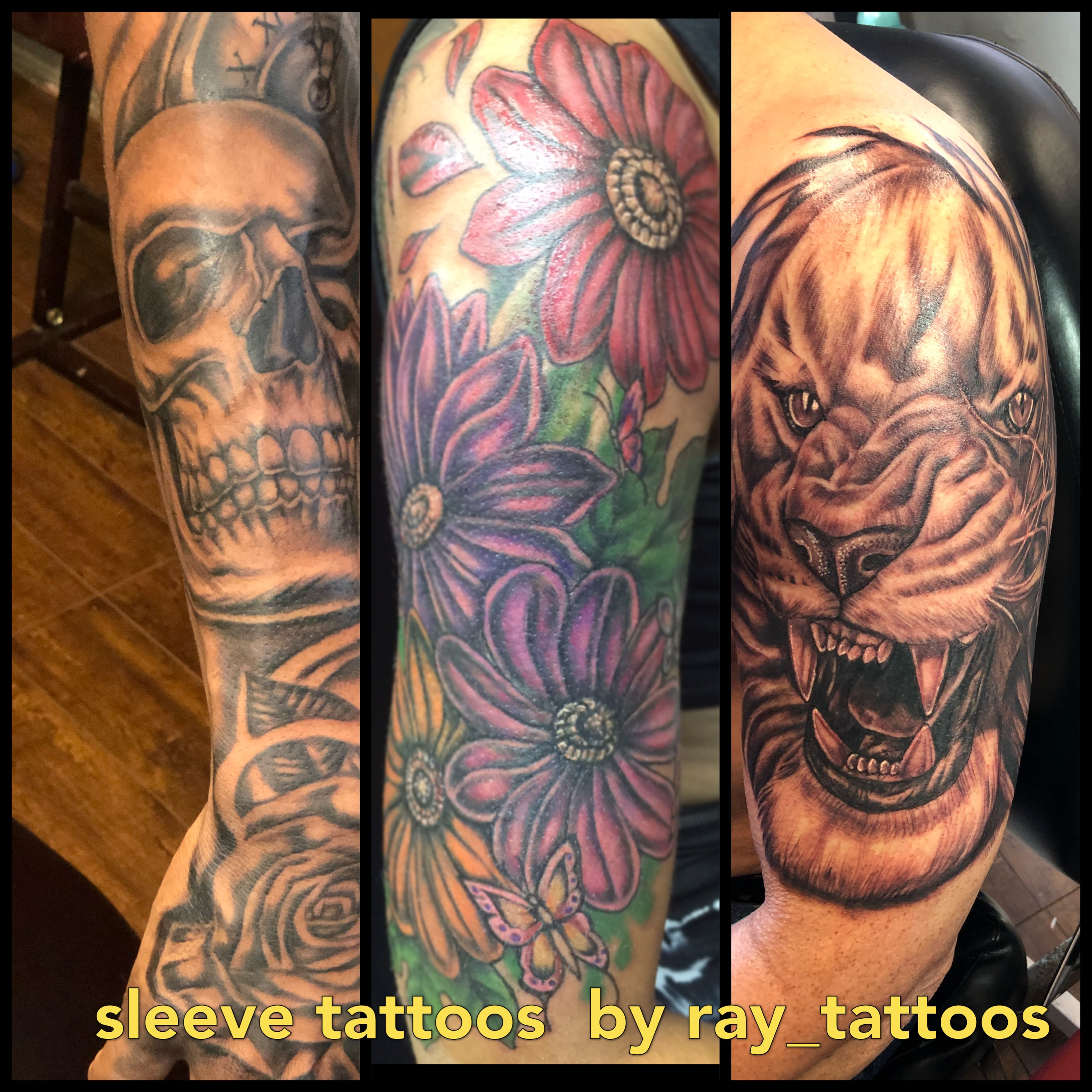 Win!! a Free tattoo half sleeve or a cover-up tattoo by islandcity ...