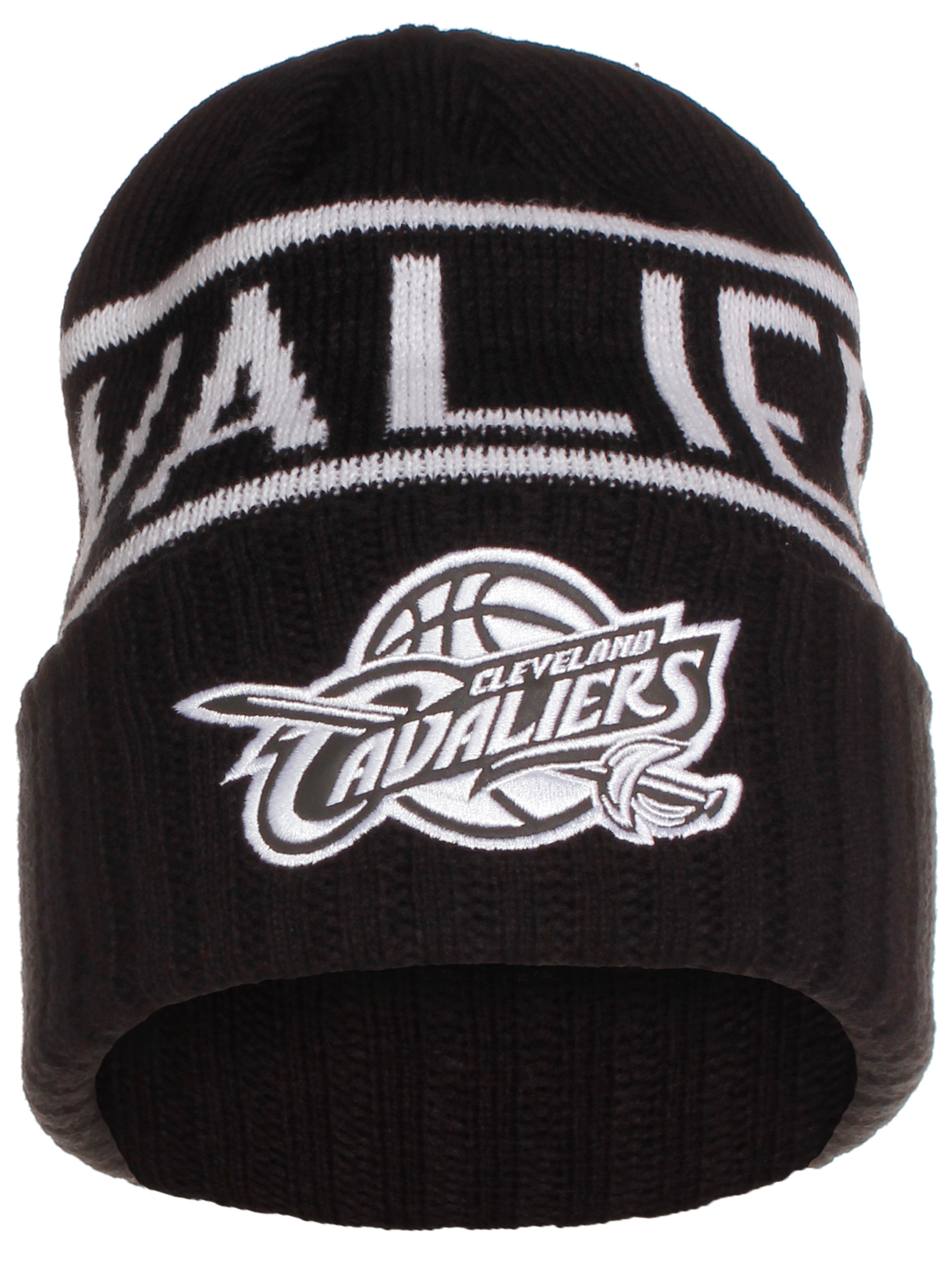 c75bd7110dd Mitchell   Ness NBA Cleveland Cavaliers Cuffed Beanie Knit Hat ...
