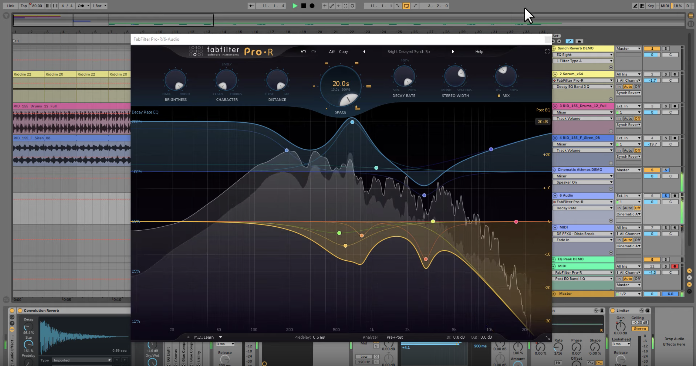 Using FabFilter Pro-R to Make Huge Cinematic Impact FX