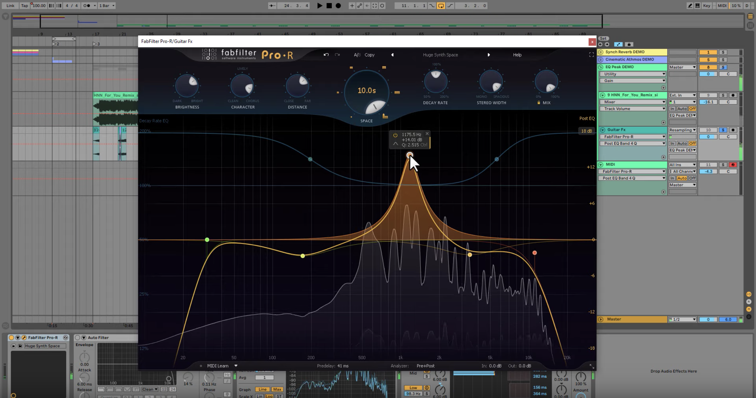 Using FabFilter Pro-R to Make Lush Pads