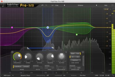 FabFilter Pro MB - Multiband Compressor
