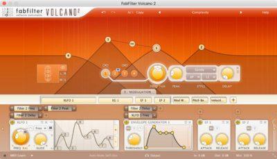 FabFilter Volcano 2 - Filter Plugin