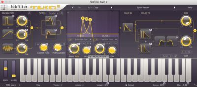 FabFilter Twin 2 - Synthesizer