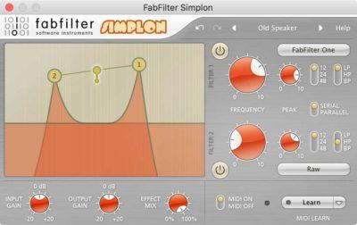 FabFilter Simplon - Filter Plugin