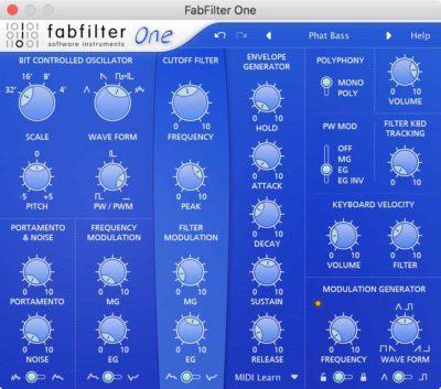 FabFilter One - Synthesizer Plugin