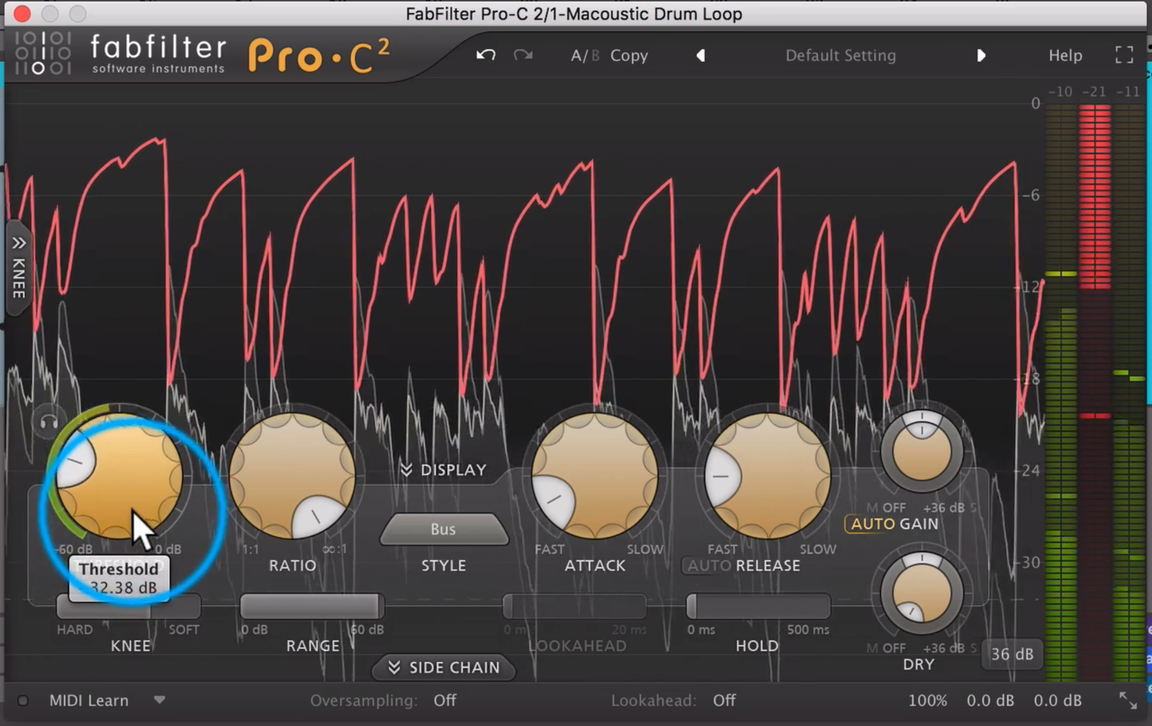 New York Parallel Compression Tutorial with FabFilter Pro-C2