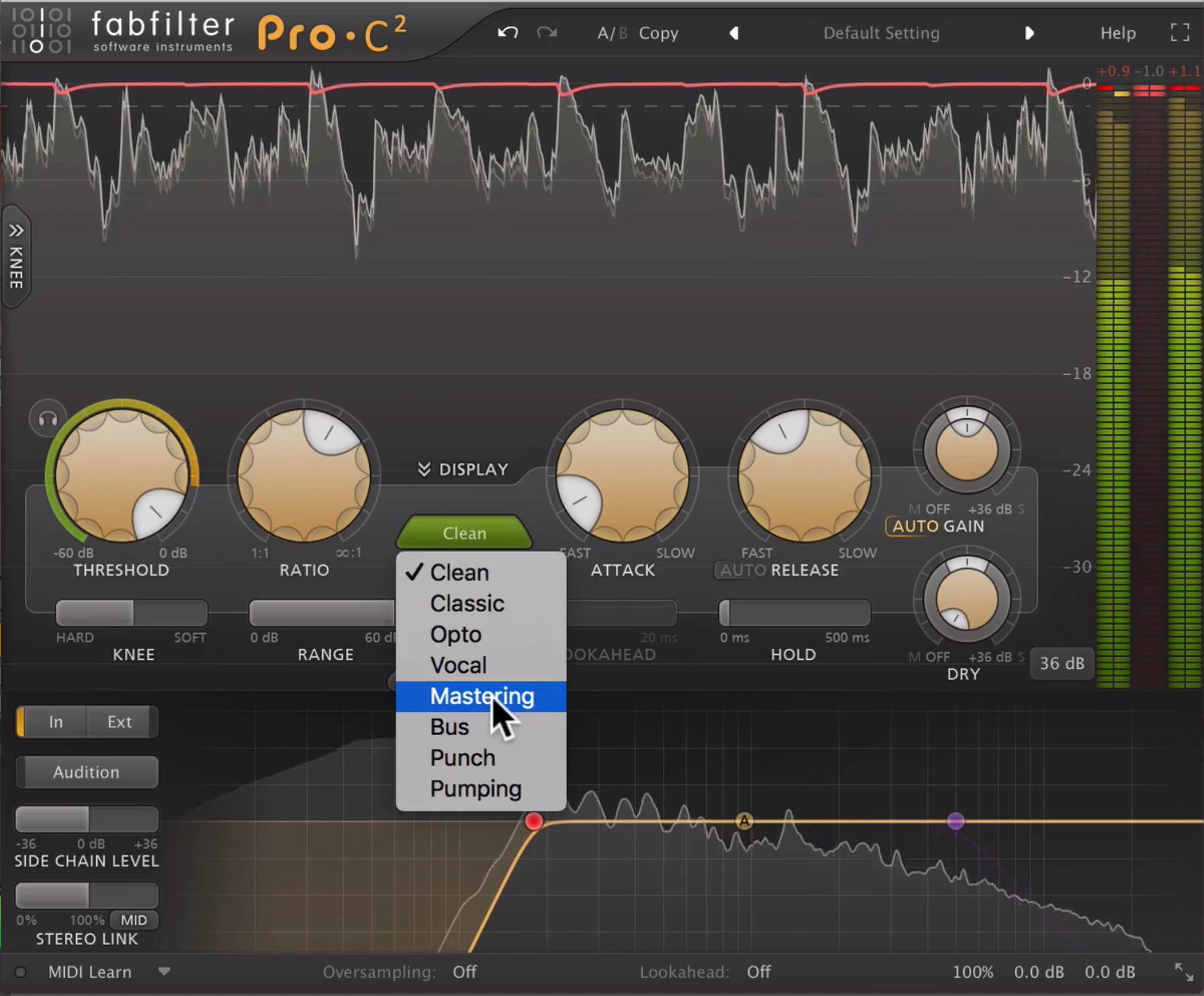 Mastering Tutorial with FabFilter Pro-C2