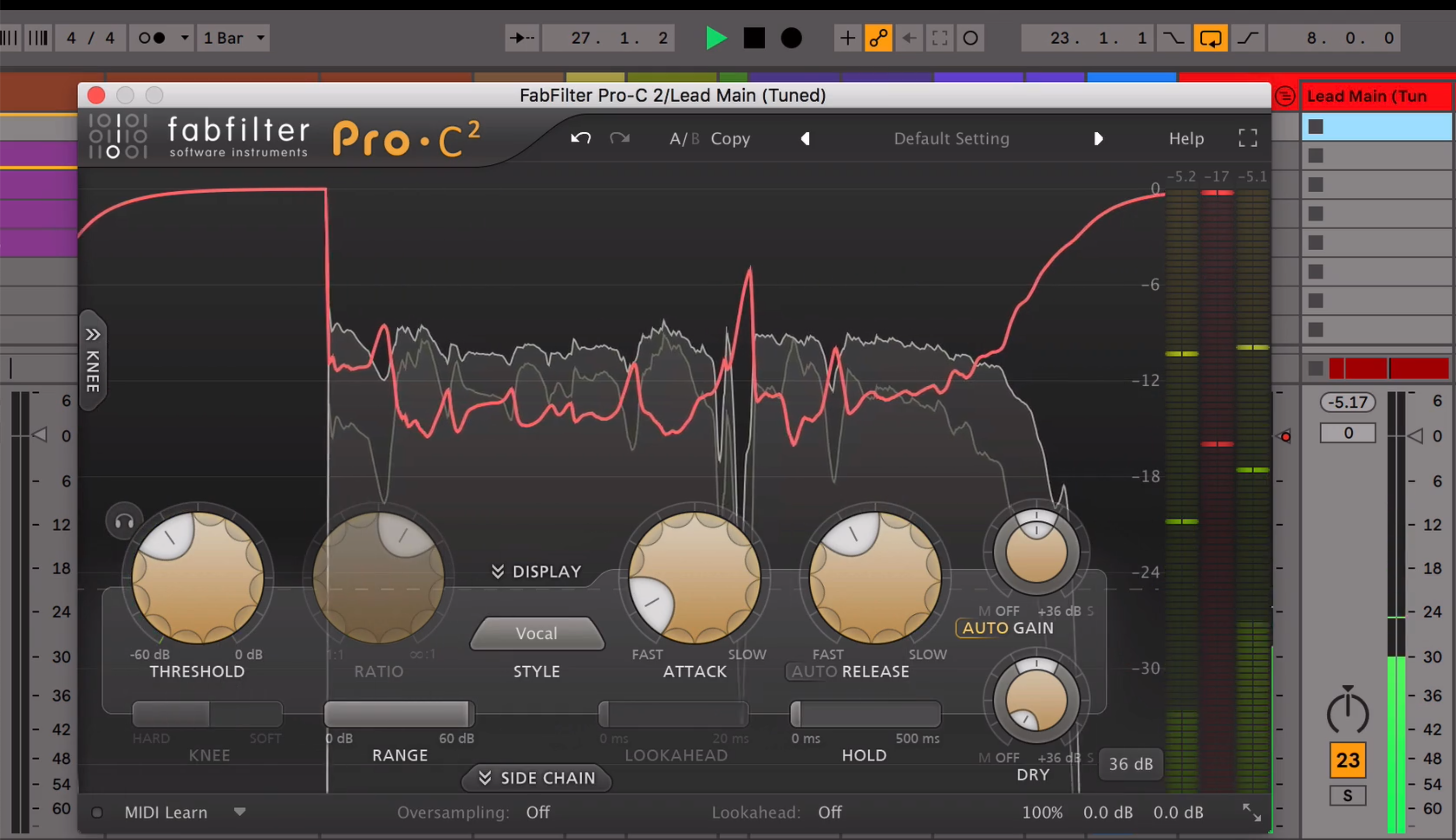 Compressing Vocals Tutorial with FabFilter Pro-C2