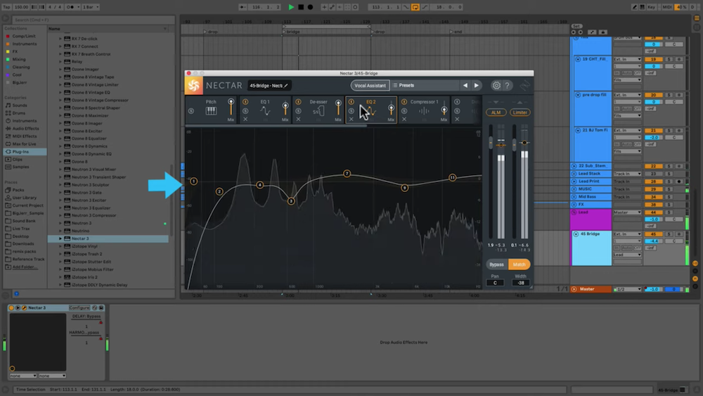 The iZotope Nectar 3 interface 1
