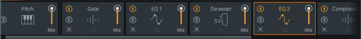 iZotope Nectar 3 Modules